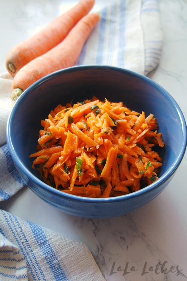 Морковный салат по-французски