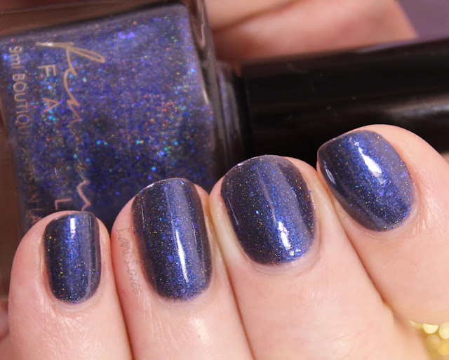 Femme Fatale Cosmetics Aquatic Nail Polish Swatches & Review
