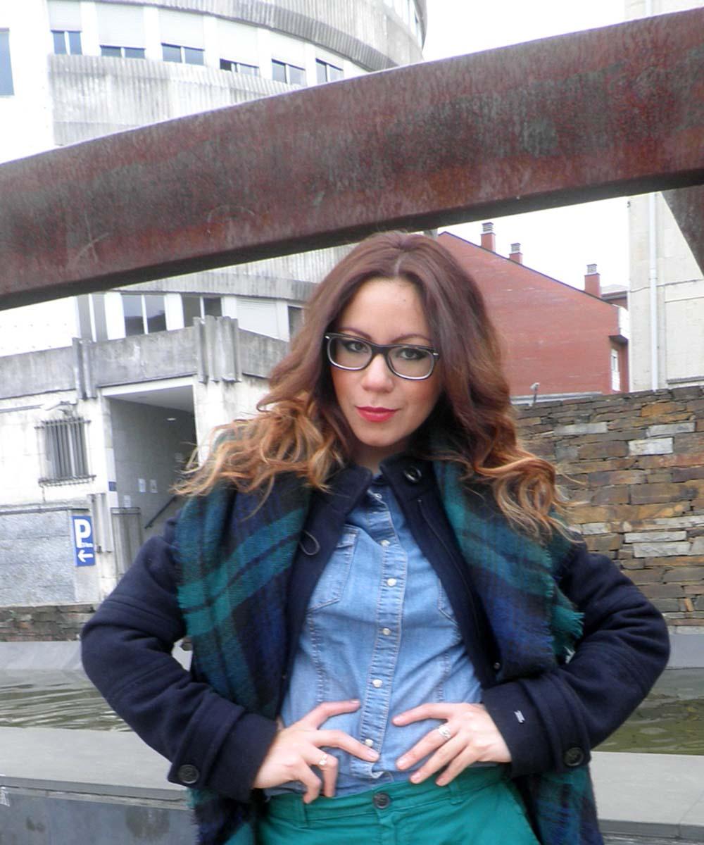 marvelous outfit bufanda azul 14