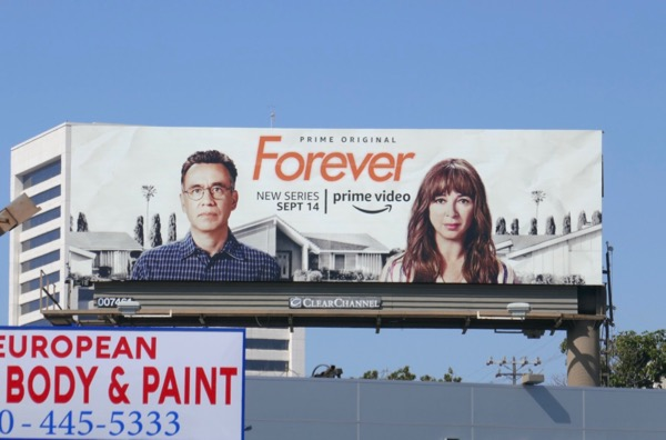 Forever series launch billboard
