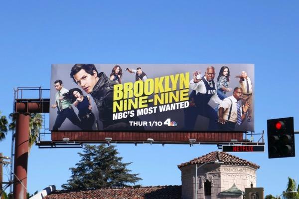 Brooklyn Nine-Nine season 6 billboard