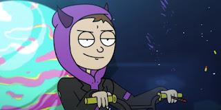 Tha Supreme non ama mettere il proprio volto sui social ed è per questo che i suoi video musicali ritraggono questo avatar che rappresenta la sua versione cartonata.