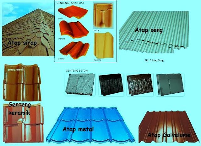 Struktur Rangka Atap Limas Kayu