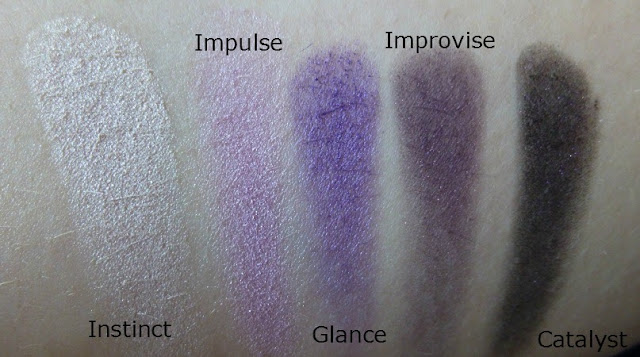Stila In The Moment Palette Swatches
