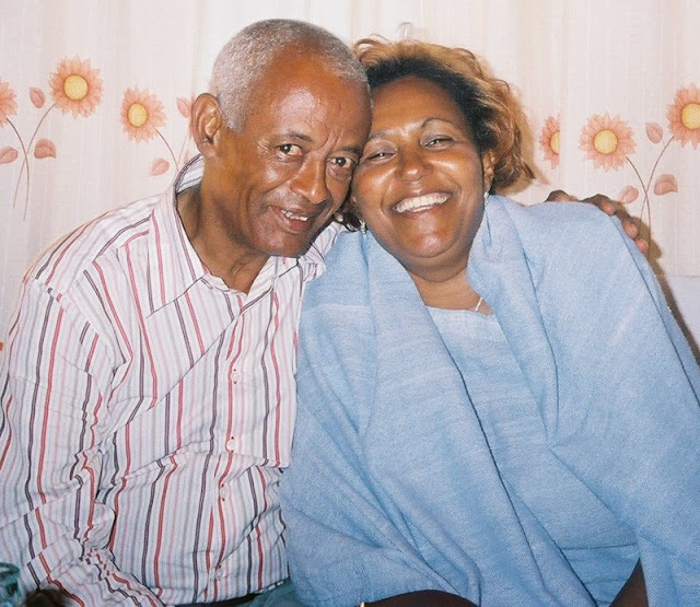 A happy couple in Nazret, Ethiopia. September, 2006.