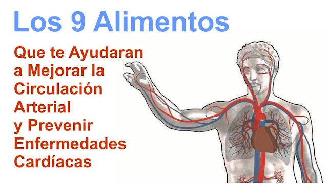 9 Alimentos que te Ayudaran a Mejorar la Circulación Arterial y Prevenir Enfermedades Cardíacas
