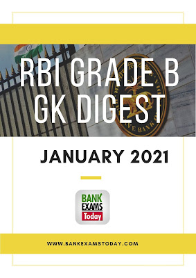 RBI Grade B GK Digest: January 2021