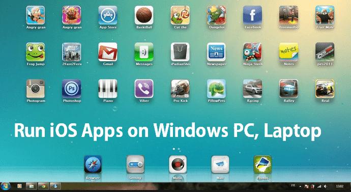 Run IOS Apps in Windows Pc/Laptop
