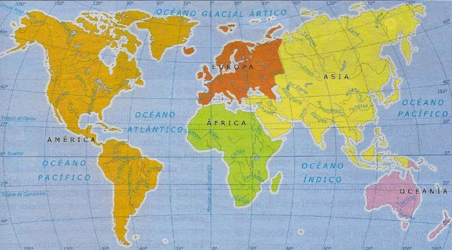 Resultado de imagen para mapa  rios  mundial