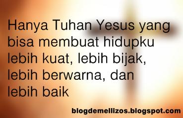 Kata Kata Rohani Kristen Penyejuk Hati Bucin Galau