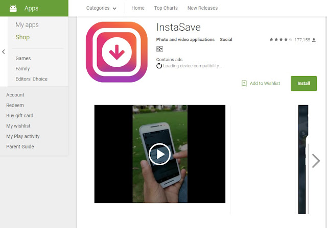 Download Aplikasi InstaSave