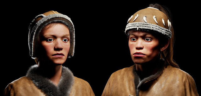 30,000 year old Sungir Homo sapiens visualized for the first time in 3-D virtual reality