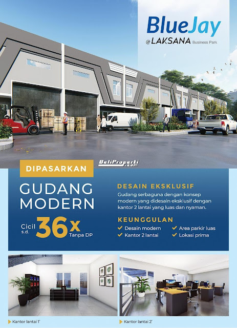 gudang bluejay laksana business park