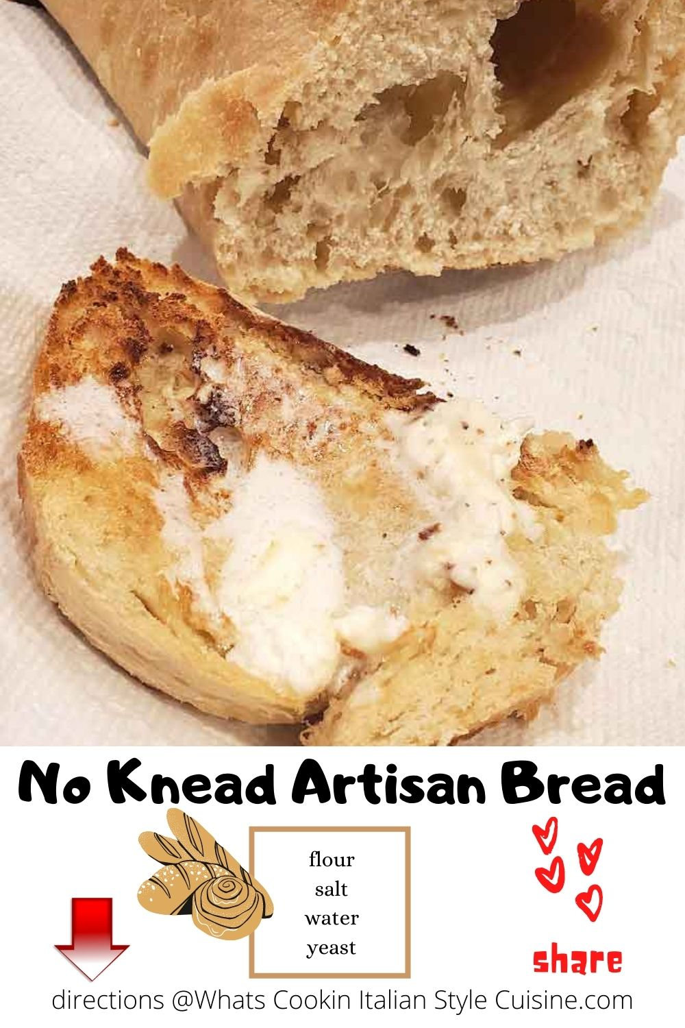 pin for later Artisan bread