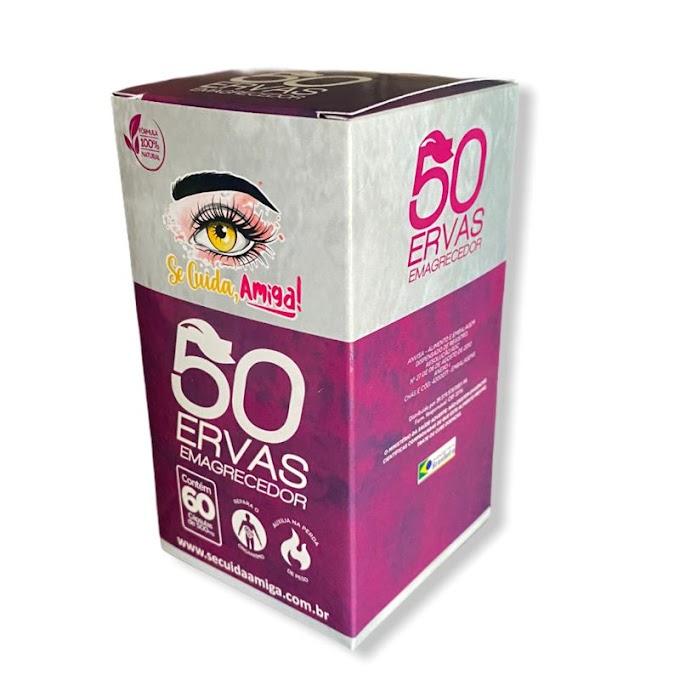 50 Ervas Emagrecedor em capsulas