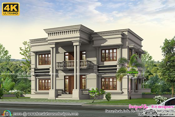 Colonial touch Aranbic mix house