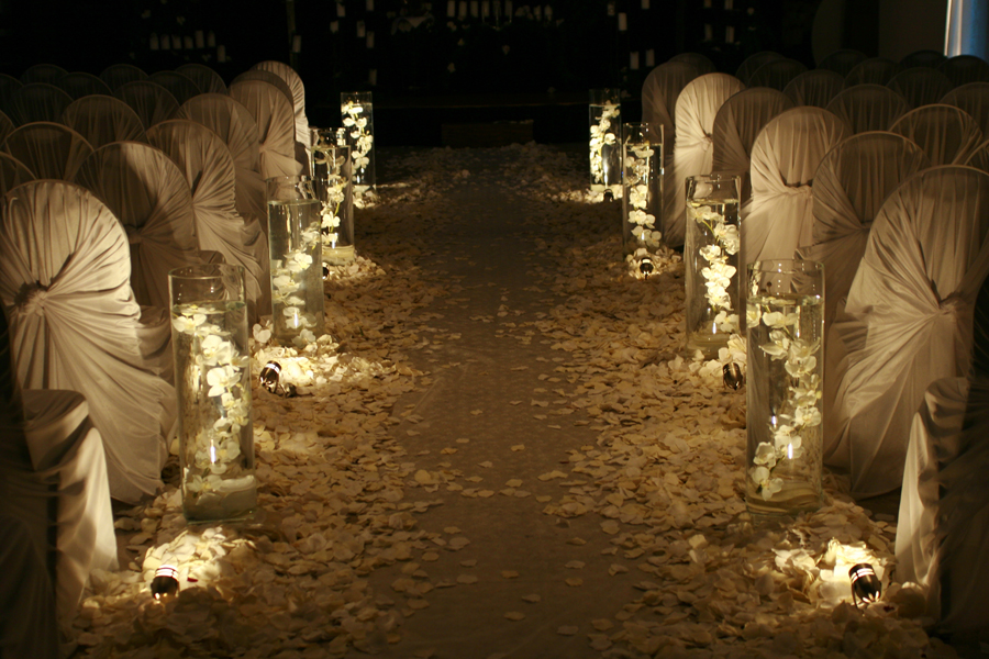 Indoor Or Outdoor Wedding Ceremony Some Facts To Help You: Wedding Aisle Decor Ideas- Kapeti Ya Harusi