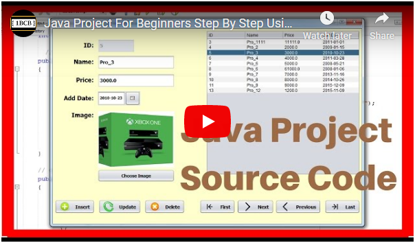 Java Simple Project Source Code