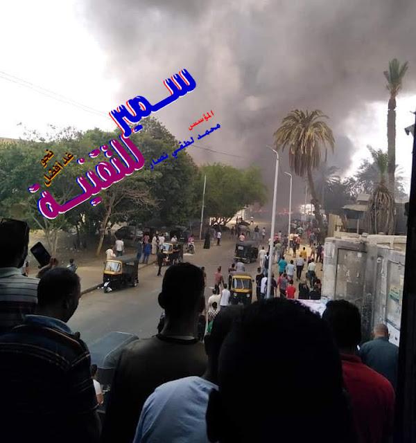 خسائر بالملايين | حريق ضخم يلتهم سوقاً شعبياً في مصر