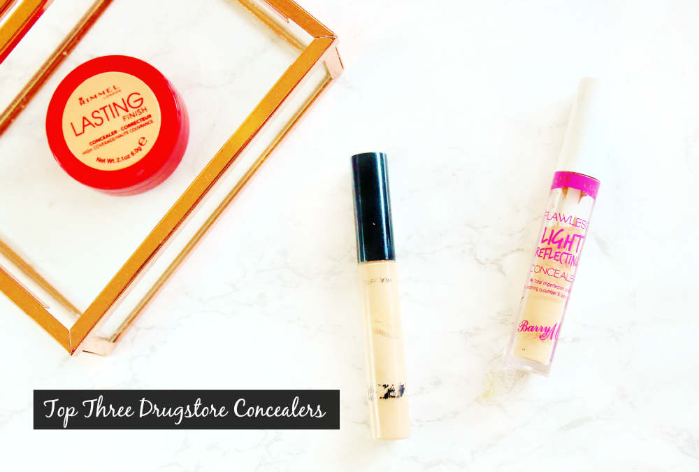 rimmel lasting perfection concealer, collection lasting perfection concealer, barry m flawless light reflecting concealer review