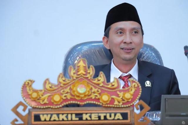 Wakil Ketua II DPRD Lamteng Firdaus Ali Minta Pemkab Lakukan Lock down