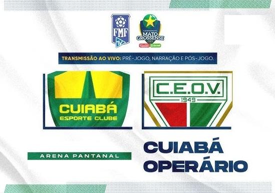 Confira o retrospecto histórico atualizado de Cuiabá x Operário