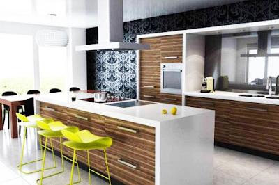 konsep ruang dapur minimalis