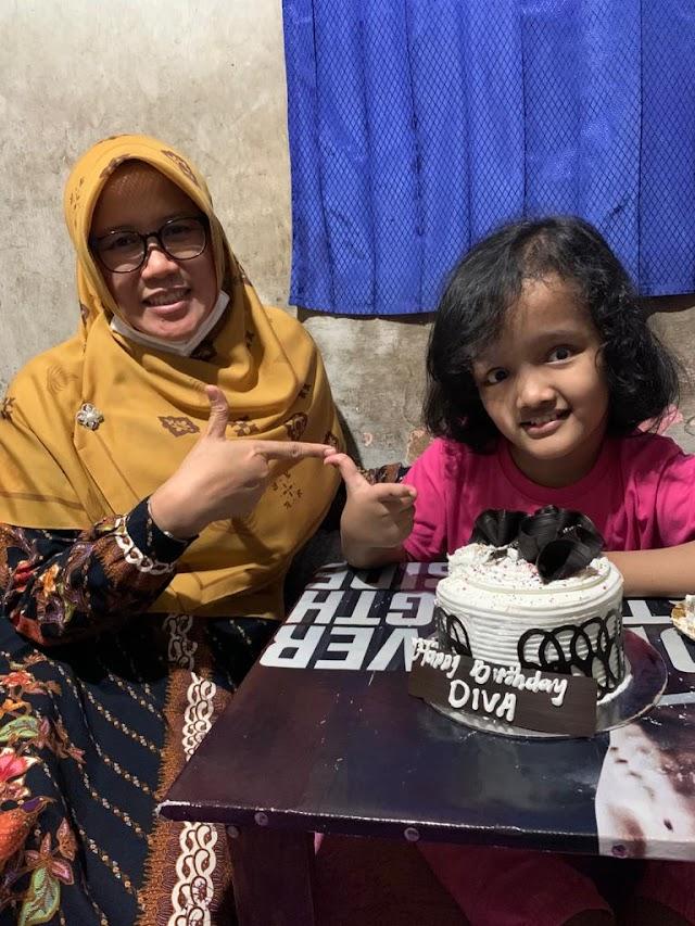 Kue Ulang Tahun untuk Diva, Kamu Hebat ! #CatatanUyun [Bagian - 14]
