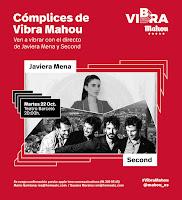 Concierto de Javiera Mena y Second en el Teatro Barceló
