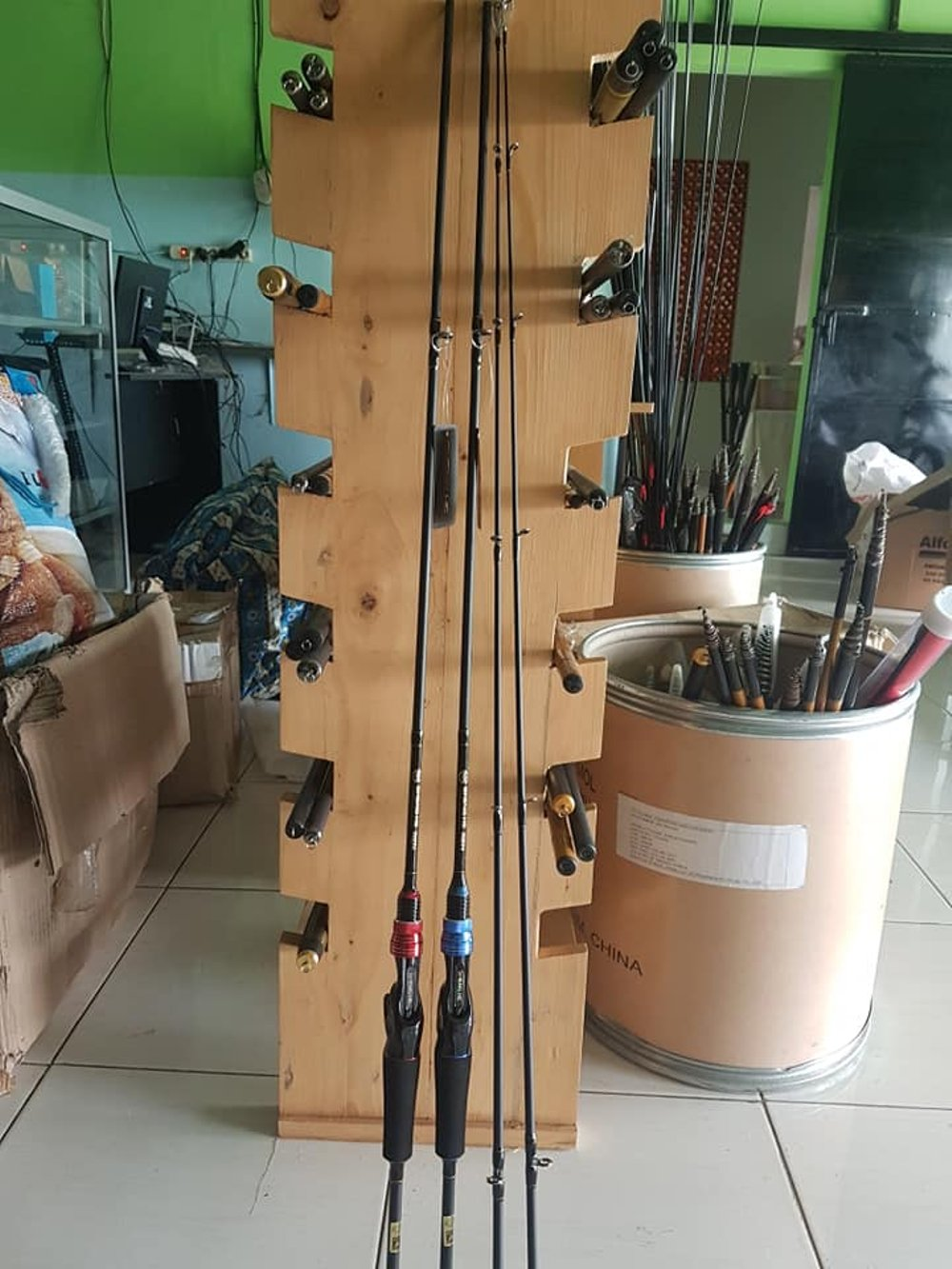 Toko Pancing Hub081290699300wa Or Sms Only 100 Senar Joran Casting Merk Sheng Hecasting Hepaket Murahpaket