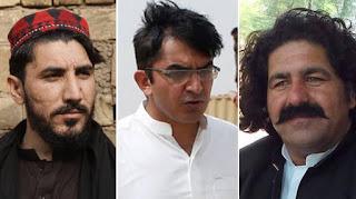 Manzoor Pashtin-MohsinDawar-Ali Wazir