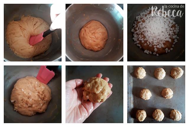 Receta de gofres de Lieja: desgasado y porciones