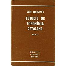 En el año 1965, en sus Estudios de toponimia catalana, J. Corominas ofrece una lista de topónimos actuales de origen mozárabe del archipiélago balear,
