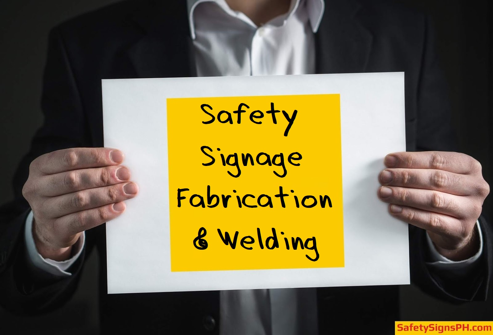 Safety Signage Fabrication & Welding Services Philippines