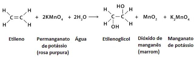 reagente baeyer reação etileno bayer