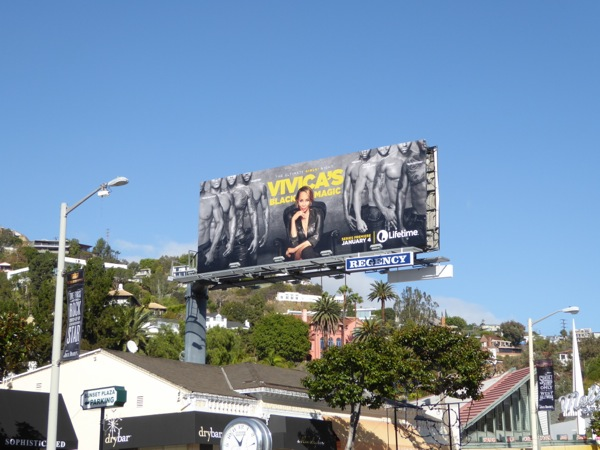 Vivicas Black Magic TV series billboard