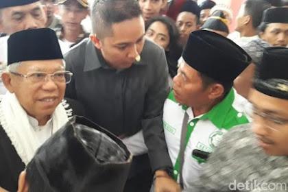 Ma'ruf Amin Akan Dukung Jokowi dari Pinggir Panggung Debat