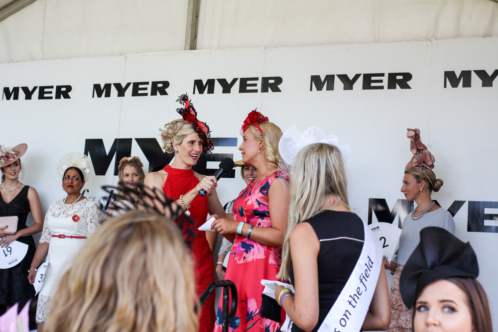 Myre Fashions on the Field competition at Ballarat Cup 2016