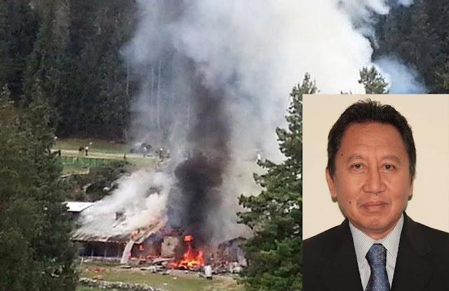 Dubes Burhan Korban Kecelakaan Helikopter di Pakistan