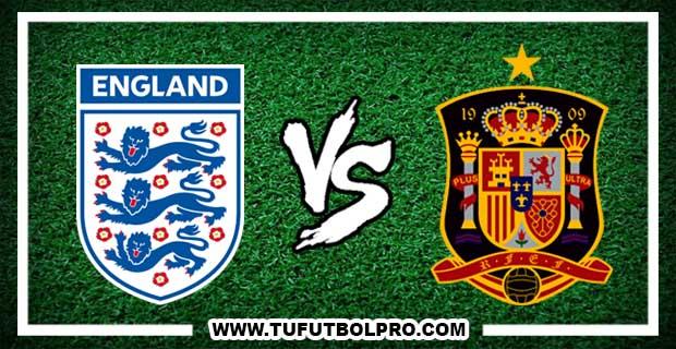 Ver Inglaterra vs España EN VIVO Por Internet Hoy 15 de Noviembre 2016