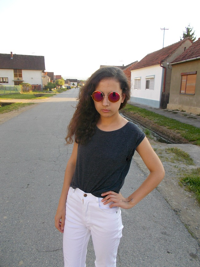 fashion with valentina,fashion with valentina blog,fashion blogger valentina,valentina batrac,teen fashion bloggers,croatian fashion bloggers,hrvatski fashion blogovi,spring outfit idea,spring 2015 outfit idea,white jeans outfit ideas,white ripped jeans outfit ideas