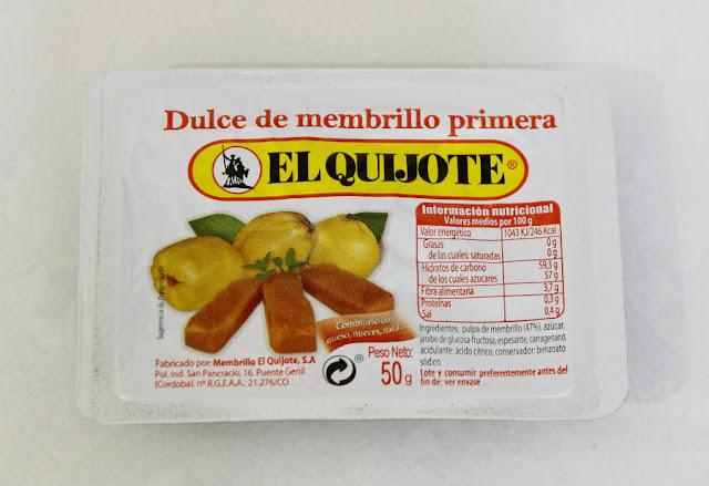 Regalo Membrillo El Quijote