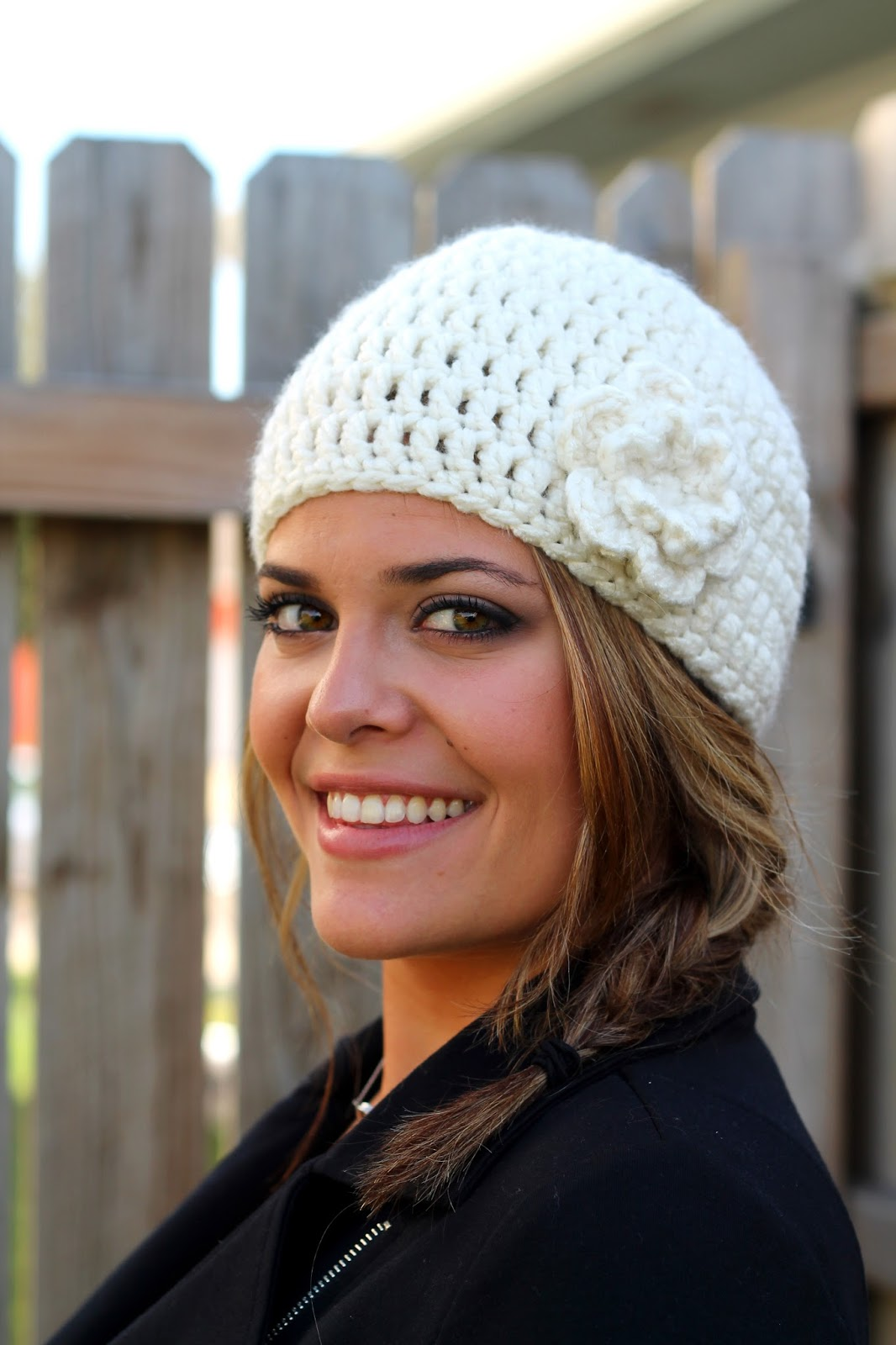 Easy Peasy And Fun: Crocheting The Day Away: Easy Peasy Woman's Winter Hat