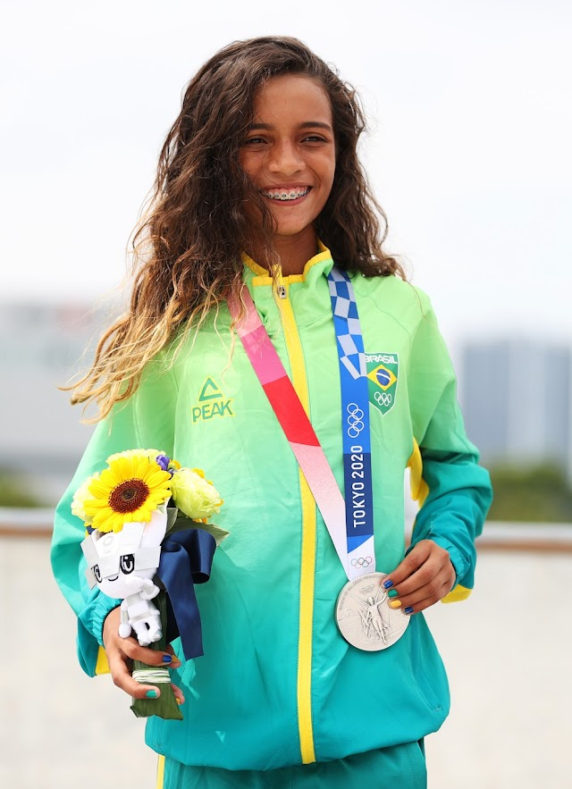 Aos 13 anos, a maranhense Rayssa Leal faz história no esporte brasileiro
