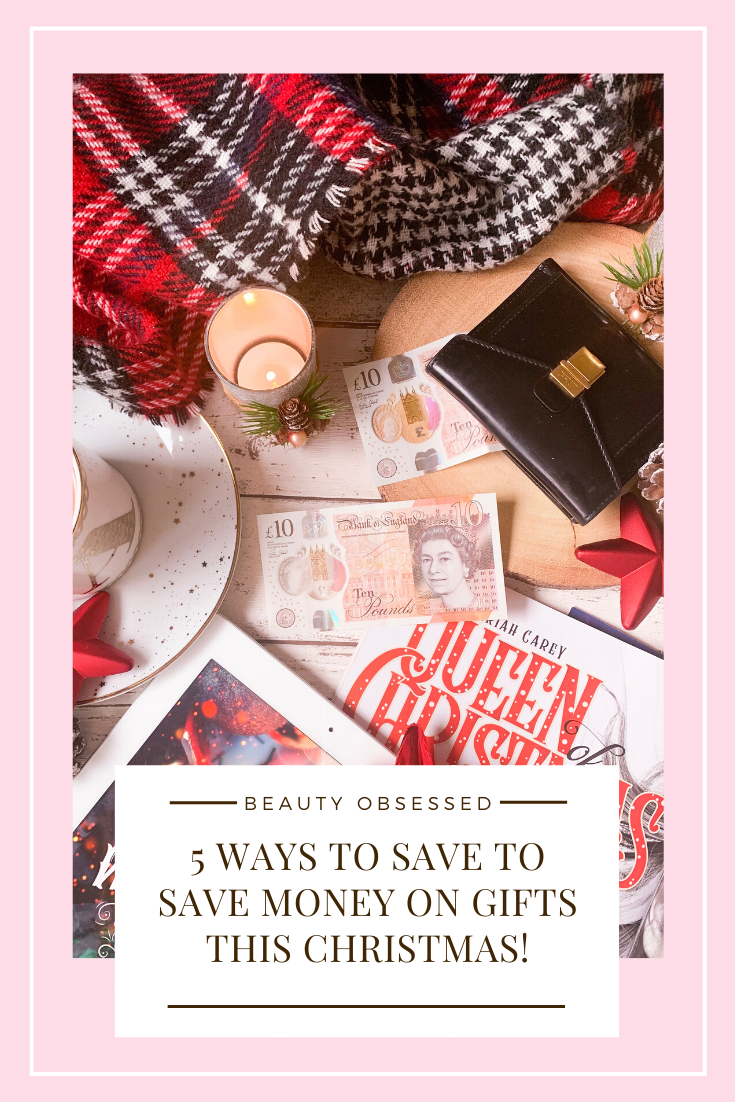 5 Ways To Save Money On Gifts This Christmas Pinterest Graphic