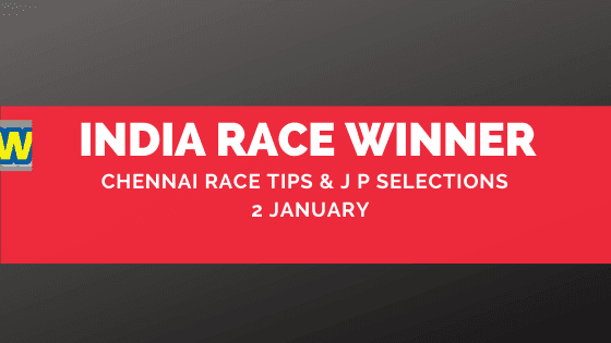 Chennai Race Selections 2 January