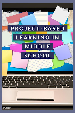 Read on to get some great ideas for project-based learning in your middle school classroom!