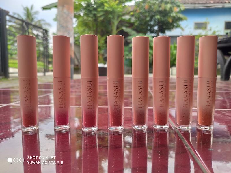 Review Hanasui Mattedorable: Lip Cream Murah dengan Kemasan Mewah