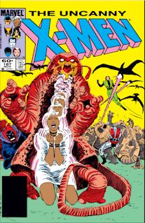 Cover Image to Uncanny x-Men #187