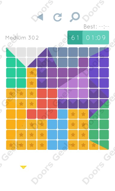 Cheats, Walkthrough for Blocks and Shapes Medium Level 302
